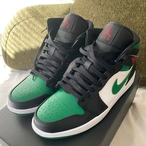 "Air Jordan 1 mid ""pine green"""
